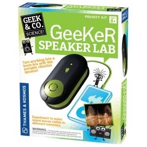Thames & Kosmos Geeker Speaker Lab; Type: Science; (model TK550017), price per set