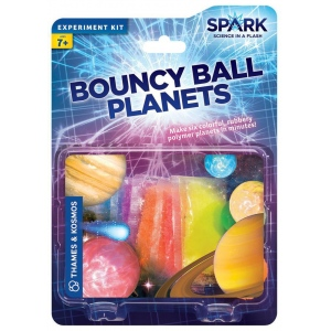 Thames & Kosmos Bouncy Ball Planets; Type: Science; (model TK551014), price per set