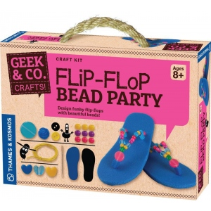 Thames & Kosmos Flip-Flop Bead Party; Type: Craft; (model TK553009), price per set