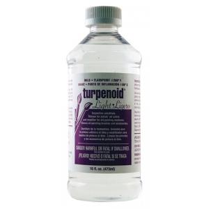 Weber® Turpenoid® Light 16oz; Size: 16 oz; Type: Solvents; (model W1636), price per each