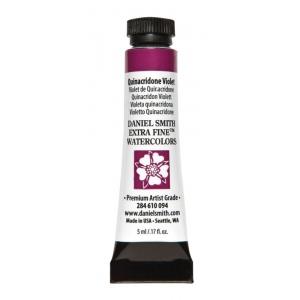 Daniel Smith Extra Fine™ Watercolor 5ml Quinacridone Violet: Purple, Tube, 5 ml, Watercolor, (model 284610094), price per tube
