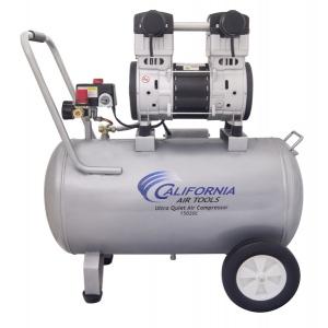 California Air Tools 15020C Air Compressor: 2.0 HP, 15.0 Gal. Steel Tank, Ultra Quiet, Oil-Free, Powerful
