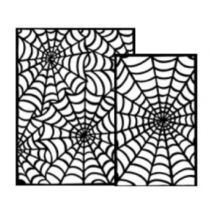 Ranger - Dyan Reaveley - Dylusions - Stencils - Cobwebs Small