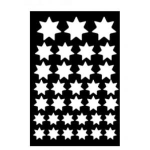 Ranger - Dina Wakley Media - Stencils - Variegated Stars