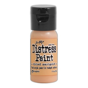 Ranger - Tim Holtz - Distress Paint Flip Cap - Dried Marigold 1 oz
