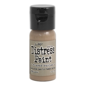 Ranger - Tim Holtz - Distress Paint Flip Cap - Frayed Burlap 1 oz