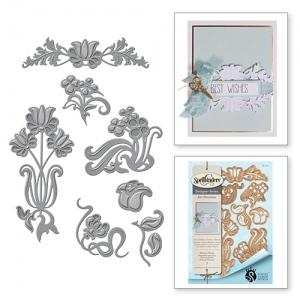 Spellbinders - Stacey Caron - Shapeabilities - Nouveau Florals Die