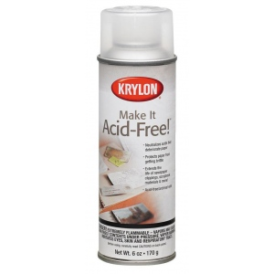 Krylon® Make It Acid-Free!™ Spray: Matte, Varnish & Specialty, (model K7028), price per each