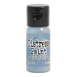 Ranger - Tim Holtz - Distress Paint Flip Cap - Stormy Sky 1 oz