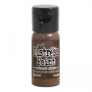 Ranger - Tim Holtz - Distress Paint Flip Cap - Walnut Stain 1 oz