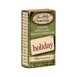 Advantus - Tim Holtz - Ideaology - Holiday Flashcards - Mini