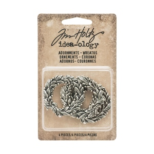 Advantus - Tim Holtz - Ideaology - Adornments - Wreaths