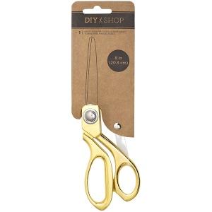 American Crafts - Cutup - Scissors 8in - Gold Metal