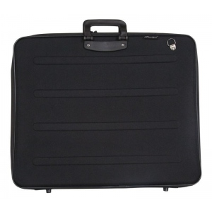 "Prestige™ Rugged Pro Portfolio 17"" x 22"": Black/Gray, 1 1/2"", Vinyl, 17"" x 22"", (model EVA1722), price per each"