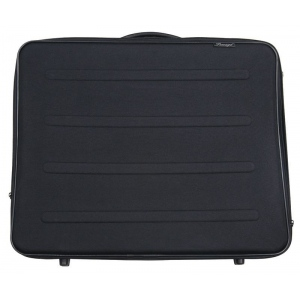 "Prestige™ Rugged Pro Deluxe Portfolio 17"" x 22"": Black/Gray, 2 1/4"", Vinyl, 17"" x 22"", (model EVM1722), price per each"