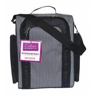 Spectrum Noir™ Crafter's Companion Large Storage Bag: 168 Markers, Black/Gray, Nylon, Case, (model SBAG-L), price per each