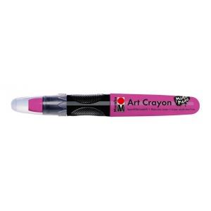 Marabu Art Crayon Raspberry: Red/Pink, Stick, Watercolor, (model M01409003005), price per each