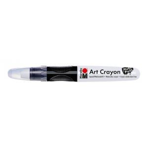 Marabu Art Crayon White: White/Ivory, Stick, Watercolor, (model M01409003070), price per each