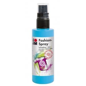 Marabu Fashion Spray Sky Blue 100ml: Blue, Bottle, 100 ml, Fabric, (model M17199050141), price per each