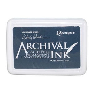 Ranger Wendy Vecchi Archival Ink Pads #0: Watering Can