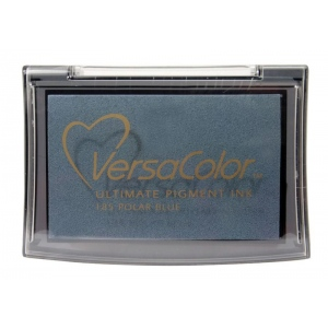 VersaColor™ Pigment Ink Pad Polar Blue: Blue, Pad, Pigment, Full Size Rectangle, (model VC185), price per each