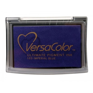 VersaColor™ Pigment Ink Pad Imperial Blue: Blue, Pad, Pigment, Full Size Rectangle, (model VC103), price per each