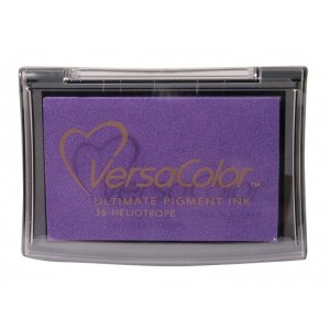 VersaColor™ Pigment Ink Pad Heliotrope: Purple, Pad, Pigment, Full Size Rectangle, (model VC036), price per each