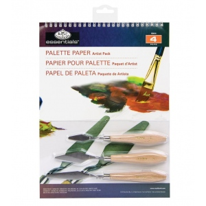 "Royal & Langnickel® Essentials™ Palette Paper Artist Pack: Wire Bound, Multi, Pad, 15 Sheets, 9"" x 12"", (model RD515), price per 15 Sheets"
