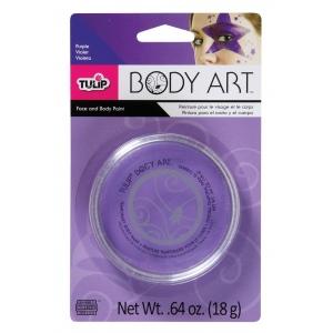 Tulip® Body Art™ Purple Paint: Purple, Jar, 18 g, (model D28825), price per each
