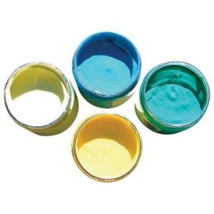 Speedball® Night Glo White Phosphorescent Fabric Screen Printing Ink: White/Ivory, Jar, Glow-In-The-Dark, 8 oz, (model H47523), price per each