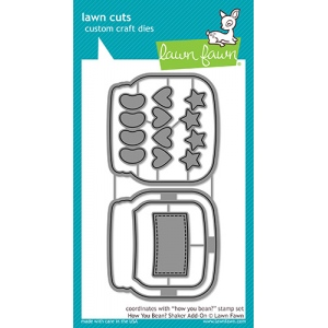 Lawn Fawn - Lawn Cuts - How You Bean? Shaker Add-On Dies