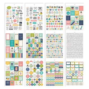 Simple Stories - Carpe Diem - Home - Home Sticker Sheet Tablet