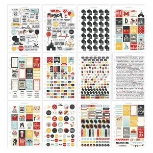 Simple Stories - Carpe Diem - Say Cheese III - Sticker Sheet Tablet