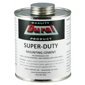 Dural Super-Duty Mounting Cement 16oz: 16 oz, (model SDMC16), price per each