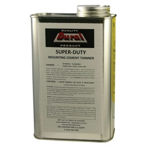 Dural Super-Duty Mounting Cement Thinner: 32 oz, Solvents, (model SDMT32), price per each