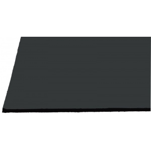 "Alvin® Black on Black Presentation Boards 15"" x 20"": Black/Gray, Matte, Sheet, 50 Sheets, 15"" x 20"", Presentation Board, (model 1520-50), price per 50 Sheets box"