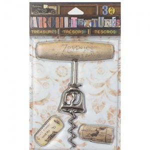 7Gypsies - Architextures - Treasures - Wooden Corkscrew