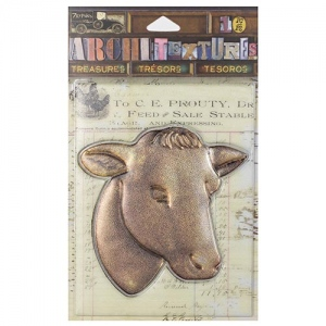 7Gypsies - Architextures - Treasures - Cow Head