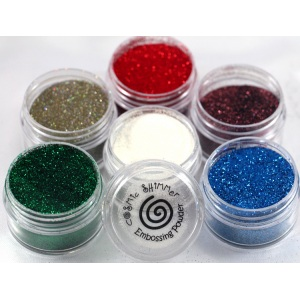 Cosmic Shimmer Brilliant Sparkle Embossing Powder: Sea Turtle