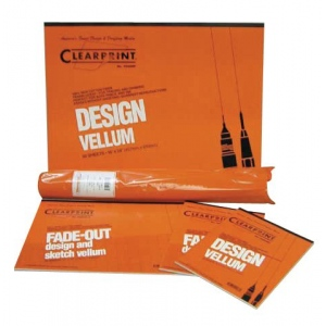 """Clearprint® 1020 Series 11 x 17 Unprinted Vellum 10-Sheet Pack; Format: Sheet; Grid Size/Pattern: Unprinted; Quantity: 10 Sheets; Size: 11"""" x 17""""; Weight: 20 lb; (model CP12201216), price per 10 Sheets"""