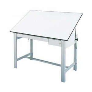 Alvin DesignMaster Table: Tool and Reference Gray Drawer Set, 28 lbs.