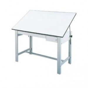 Alvin DesignMaster Table: Tool and Reference White Drawer Set, 28 lbs.