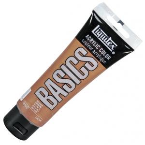 Liquitex Basics Value Series Acrylic Paint: Bronze, 4 oz./118ml Tube