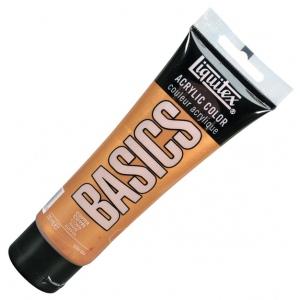 Liquitex® Basics Acrylic Color 4oz Copper: Metallic, Tube, 118 ml, Acrylic, (model 1046230), price per tube