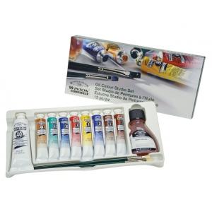 Winsor & Newton Winton Oil Color Paints: 8-Color Set