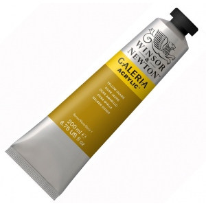 Winsor & Newton Galeria Acrylic Paint: Yellow Ochre, 200ml Tube