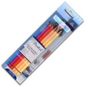 Conte Pastel Pencil: 6-Color Set, Portrait