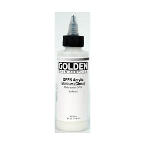 Golden Open Acrylic Medium: Matte, 4 oz. (118ml)