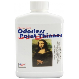 Mona Lisa™ Odorless Thinner 16oz: 16 oz, Solvents, (model ML190016), price per each