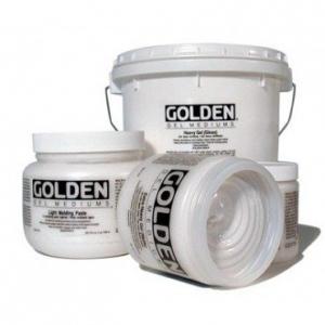 Golden Extra Heavy Gel Medium: Semi-Gloss, 16 oz. (473ml)